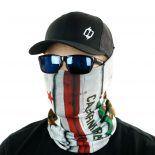 california state flag vintage face mask bandana