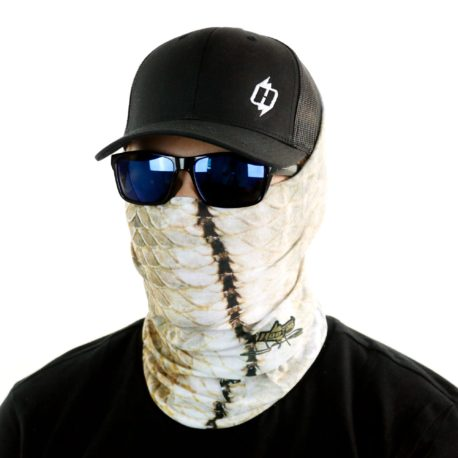 snook fishing face mask bandana side