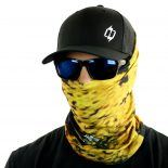 peacock fishing face mask bandana