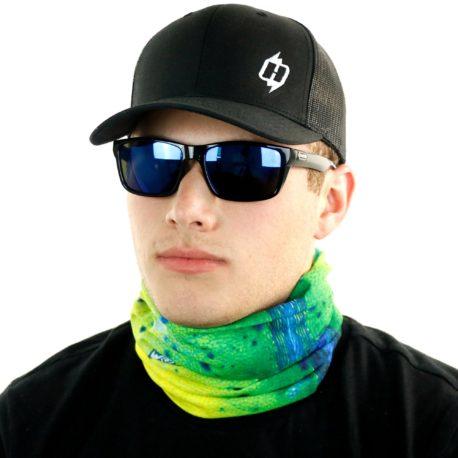dolphin mahi fishing neck gaiter bandana