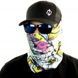 cutbow trout fishing face mask bandana