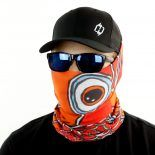 nobori redfish fishing face mask bandana