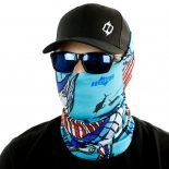 sailfish fishing face mask bandana