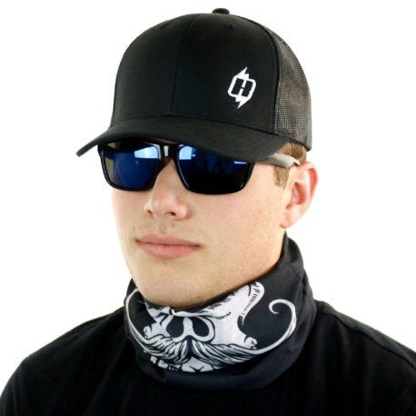 gun cowboy western neck gaiter bandana