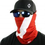 dive flag face mask bandana