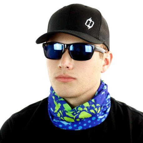 HRF19 bully mahi mahi dolphin fishing neck gaiter bandana