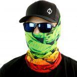 rasta bob dolphin mahi fishing face mask bandana