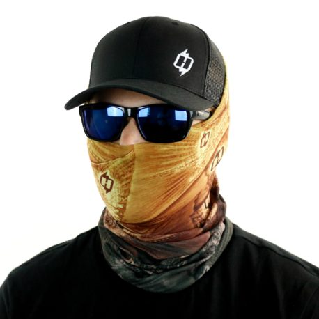 HRF31 redfish fishing face mask bandana side