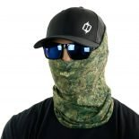 knit od camo hunting face mask bandana