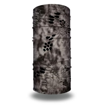 image of tubular bandana in the kryptek raid design