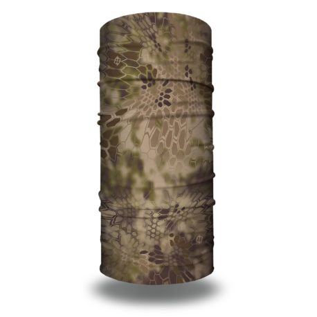HRH30 kryptek highlander camo hunting face mask bandana
