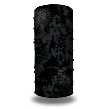 image of a tubular bandana in the kryptek typhon design