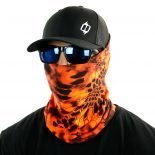 kryptek inferno camo hunting face mask bandana