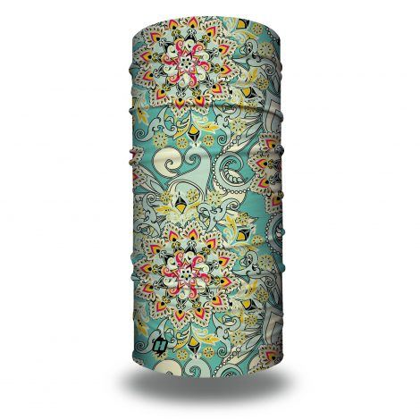 pastel floral bandana
