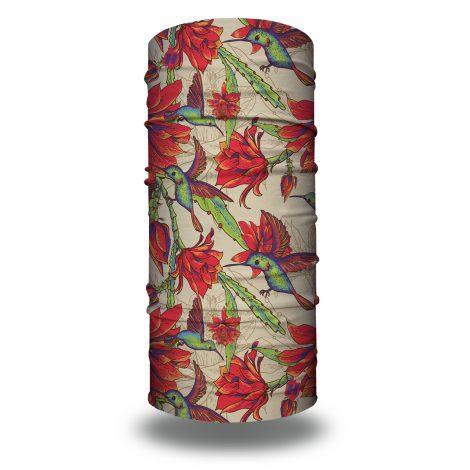 hummingbird floral bandana