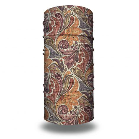 paisley swirls vintage headband bandana