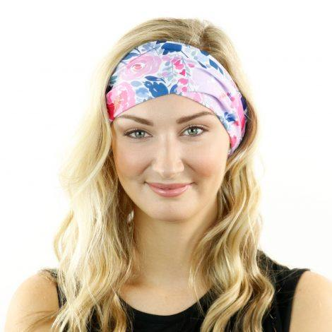 peony pop spring flower headband bandanas by hoo rag