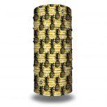 pineapple yellow bandana headband