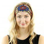 shavasana yoga mandala paisley headband bandana