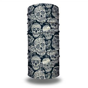 skull rebel headband bandana