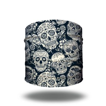 skull rebel headband bandana