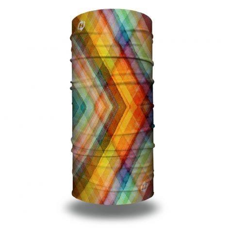 watercolor plaid bandana