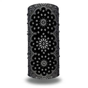 Black Paisley Bandana from Hoo-rag. Just 15.95 | Wear it 10+ Ways