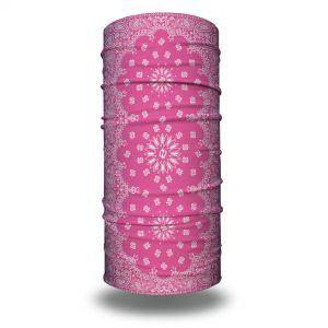 pink paisley headband bandana