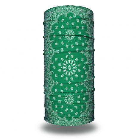 green paisley headband bandana