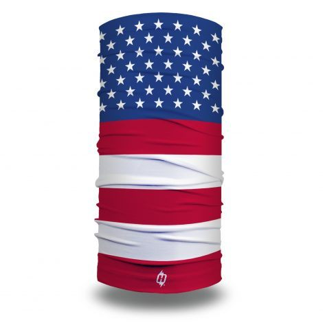 american flag fishing face mask bandana