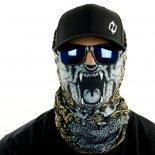 bear mandala paisley motorcycle face mask bandana HRB24
