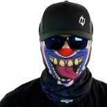 creepy clown motorcycle face mask bandana HRB29
