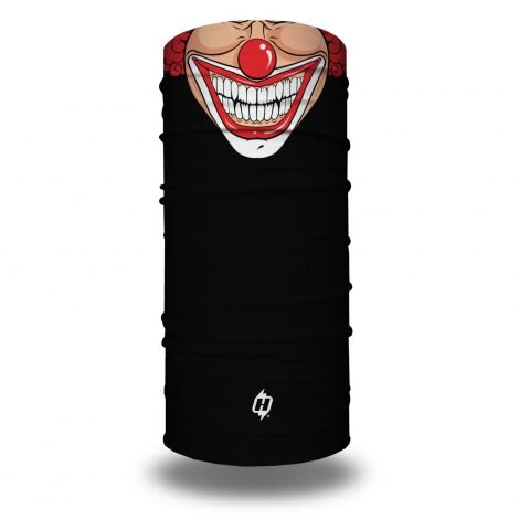 prankster joker clown toon motorcycle face mask bandana HRT06