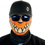 pumpkin halloween motorcycle face mask bandana HRB31