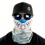 shark fishing toon motorcycle face mask bandana HRT07
