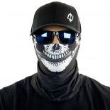 skull kbar motorcycle face mask bandana HRB07