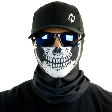 skull motorcycle face mask bandana