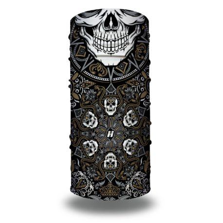 snake skull mandala paisley motorcycle face mask bandana HRB26