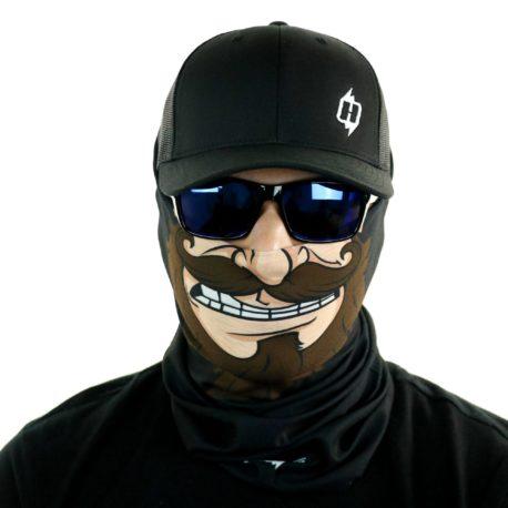 toon redneck beard motorcycle face mask bandana HRT01