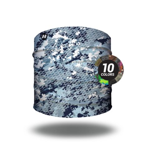 digital camo face mask bandanas
