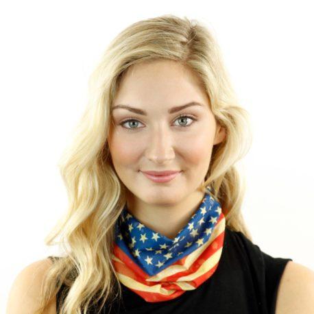 american flag neck gaiter bandana
