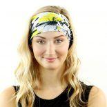 tropical floral headband bandana