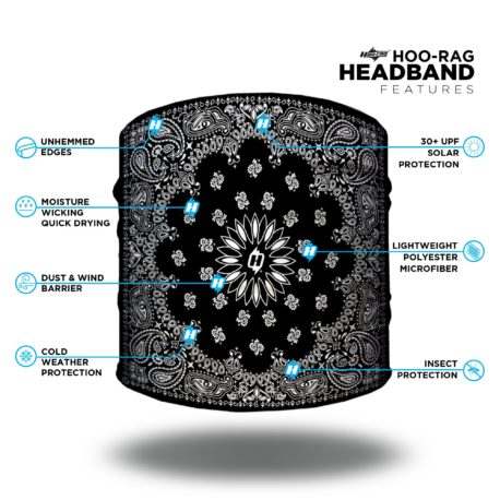 Features of our Half Hoo Headband - Just 9.95 | No Headache | Wear it 4+ Ways