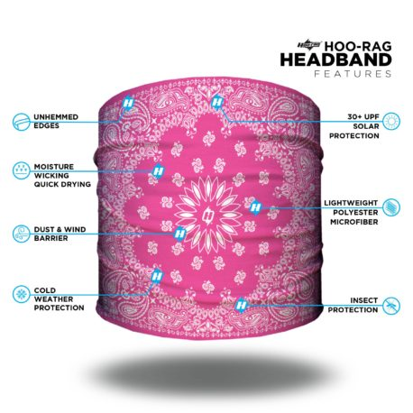 HHP02 Pink Paisley Features