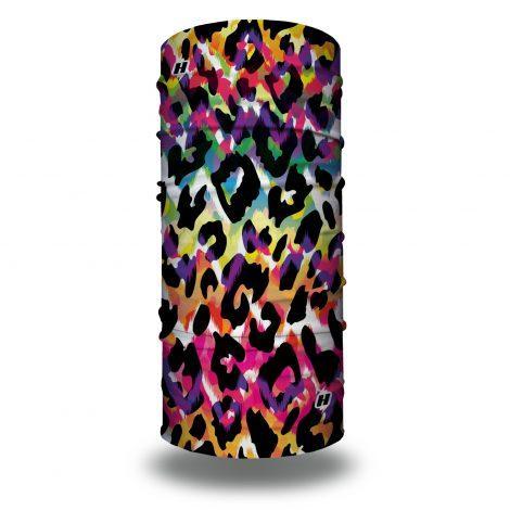 neon cheetah headband bandana