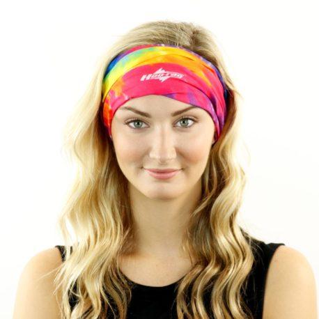 tye dye hippy headband bandana