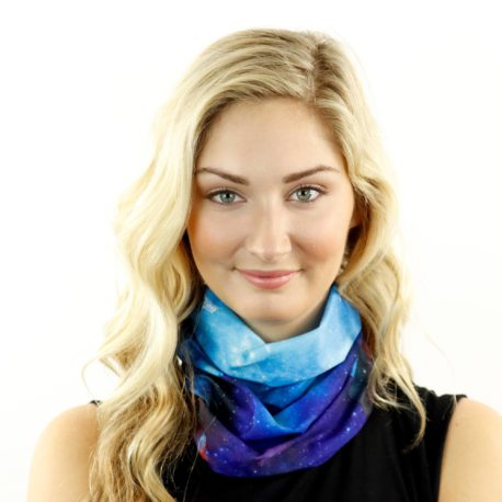 galaxy bellatrix neck gaiter bandana