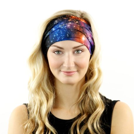 HRM11 galaxy intasteller headband bandana