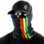 rasta jamaica fishing face mask bandana