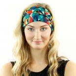 eighties neon headband bandana
